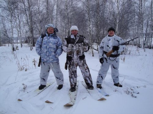 В Сибири потеплело!! - 26!! Все на лыжи!!!