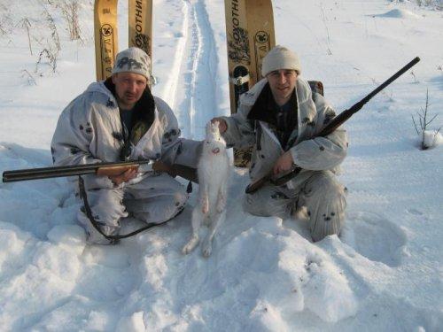 Закрытие зимней охоты 2012