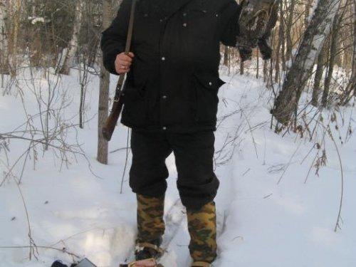 Охота в феврале
