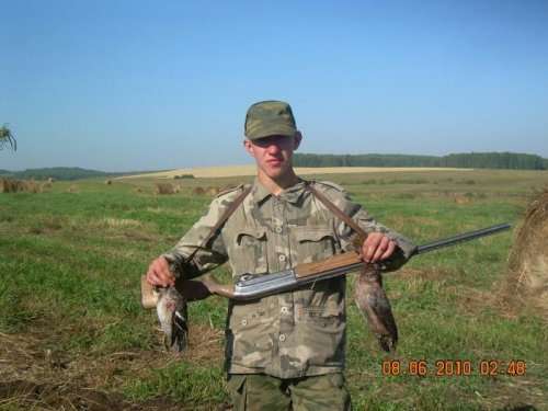 Откритие охоты осень 2011