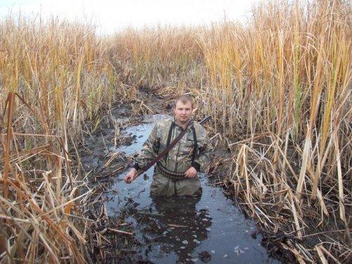 Дорога к озеру.Осень 2011. Друг Андрей