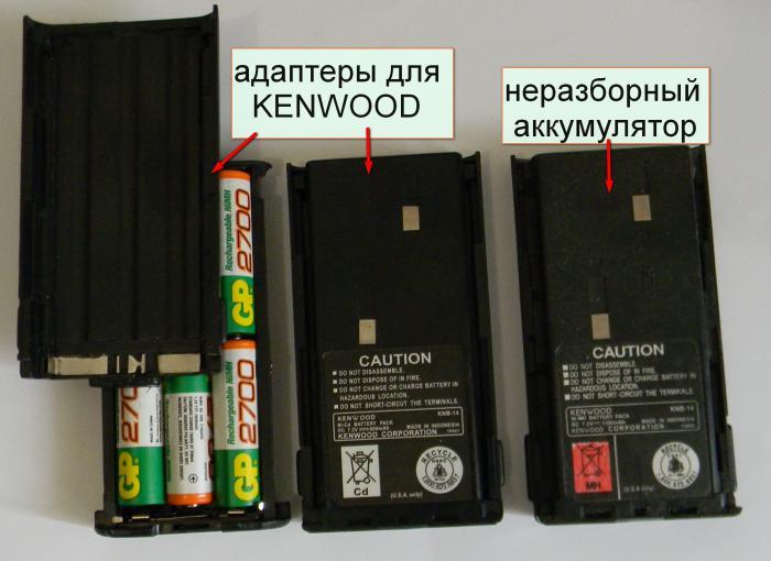 Адаптеры для рации KENWOOD