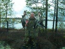 весенняя охота (17-24 мая)в районе Ханымея