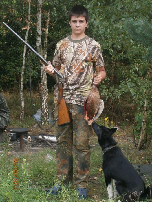 я на открытии охоты на утку  2012