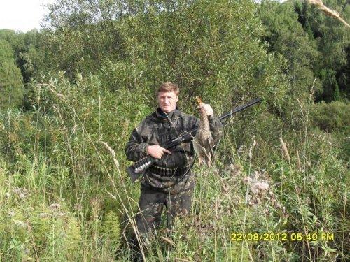 Первый выезд на охоту в этом сезоне