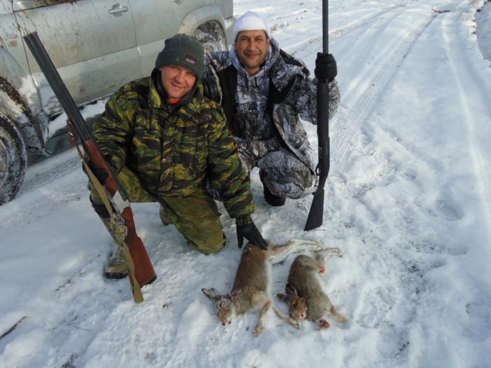 открытие на зайца-2012. тулинское