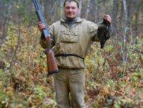 Учись, Флагман, как с твоего ружья надо рябчиков стрелять! )))