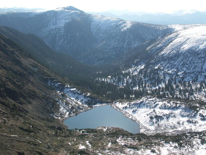 Озеро сердце (Хамар-Дабан)