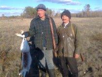 На охоте в Баевском районе
