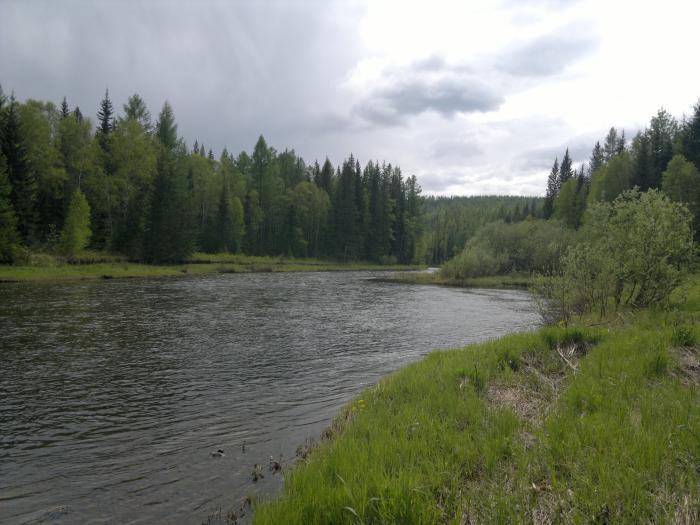 Река Улькан