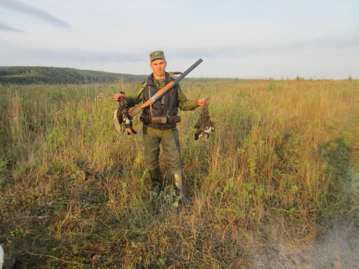 В полях на боровую открытие охоты 2012