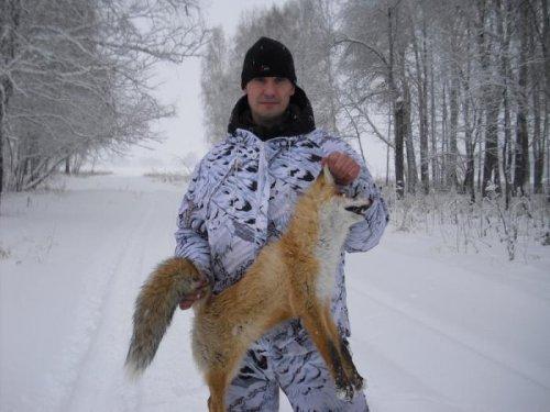 Воскресная лисичка!