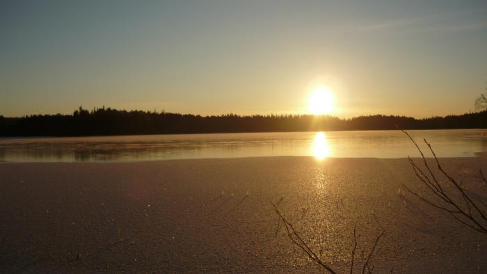 Озеро!