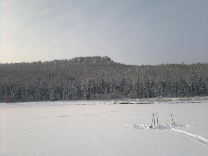 50км от Железногорска-илимского