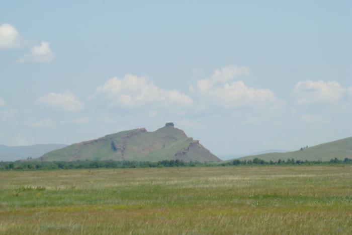 Сундук в Хакассии