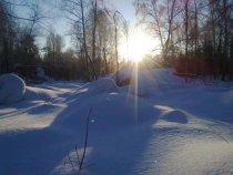 Утро на охоте 02.02.2013год -16С