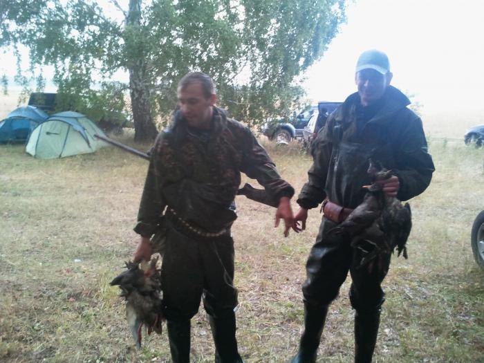 Открытие охоты на утку. Осень 2012