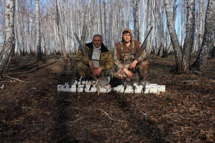 Открытие охоты 2013 весна