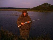 На гусиной охоте, весна 2013