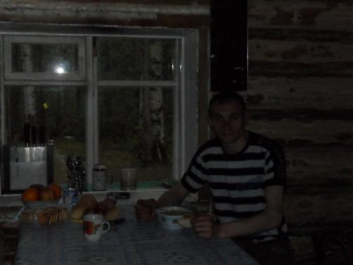 Ужин в тайге