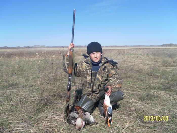 Будующий охотник!!!!!!