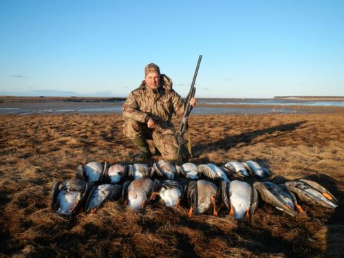 Охота на Белом море