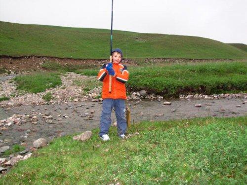 Рыбалка на высоте 2560м