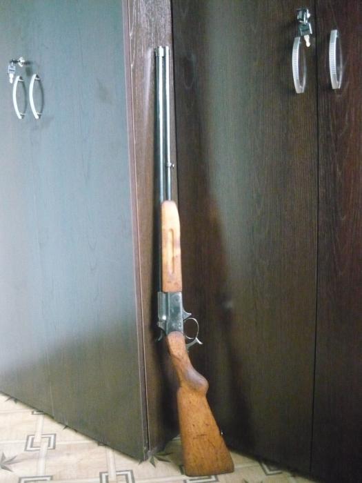 """пуле-дробовое ружьё """"Олень"""" 32 калибра"""