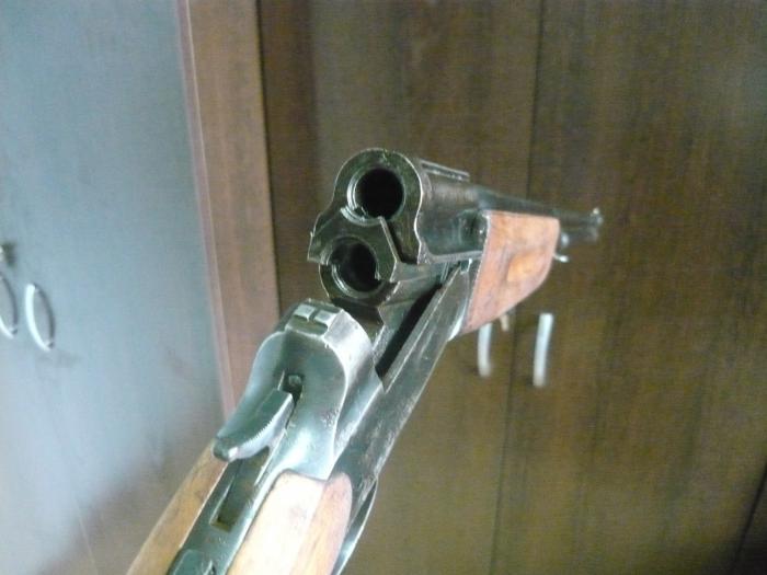 """пуле-дробовое ружьё """"Олень"""" 1957гв. 32 калибр"""