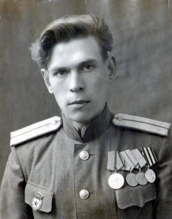 Романов Леонид. Дед