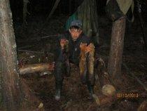 Брательник с первыми собольками этого сезона.