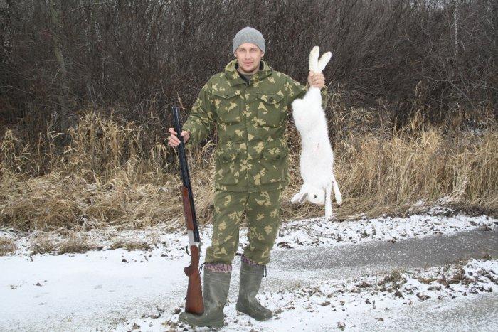Заяц с Доволенской пропиской!