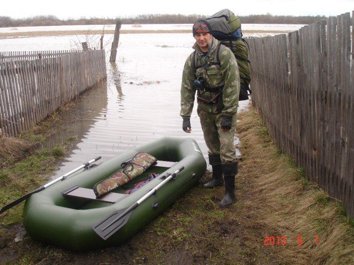 Хороший разлив был в этом году!