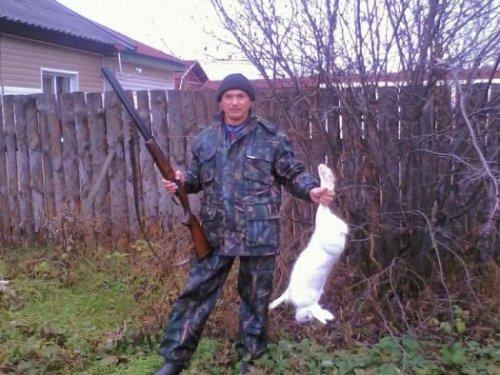 Открытие охоты на зайца. 2013 год