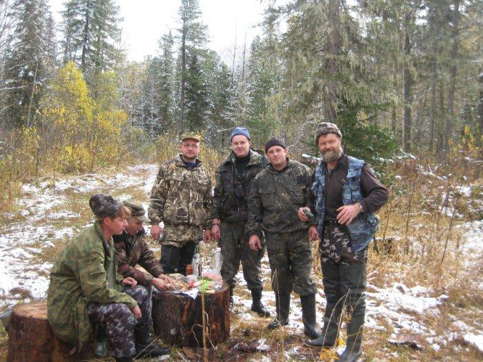 Подготовка к охоте