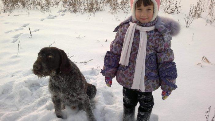 Дочка С Хардом на прогулке