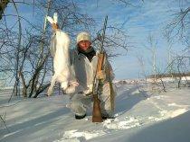 Охота на зайца. 8.01.2014