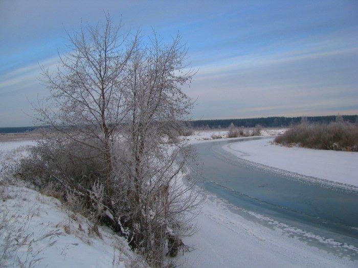Январская синь