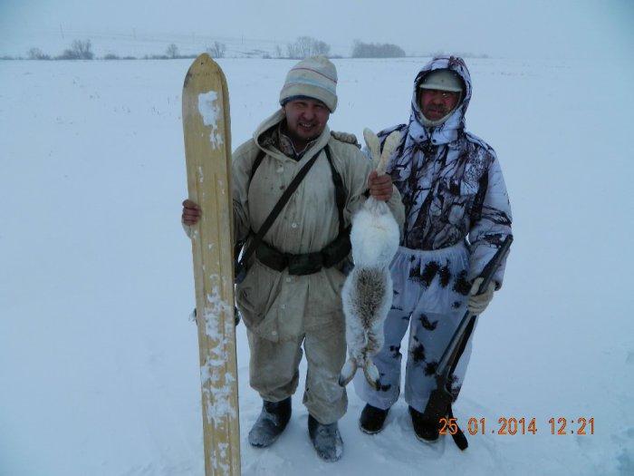 Ветер, снег, -26 за бортом