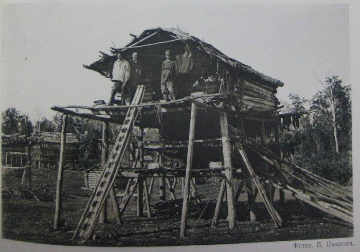 Летнее жилище камчадалов