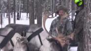 С полем Зимняя охота у Селькупов