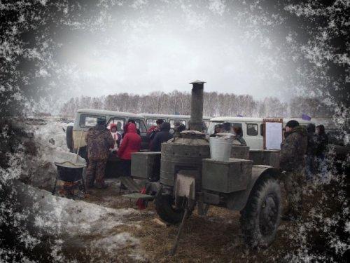 полевая кухня 15 марта 2014 Охотничий биатлон