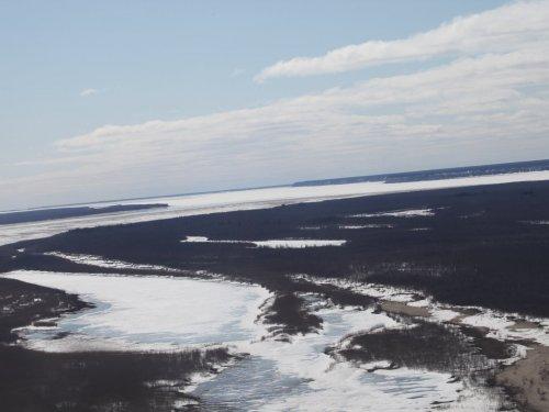 Гусиная охота. Весна 2014. Безвестный остров на реке Лена