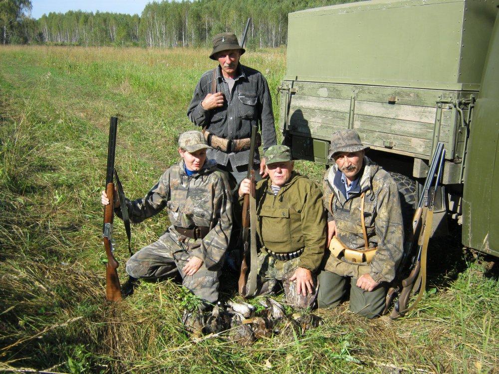 Открытие охоты удалось