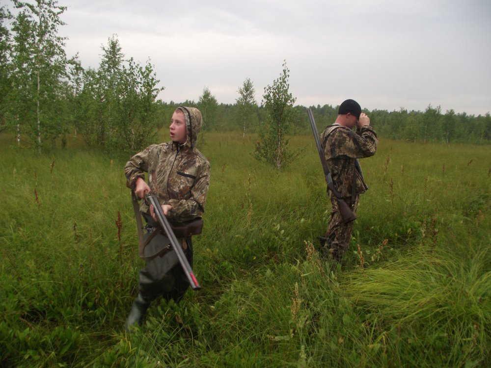 Первый день охотничьей жизни