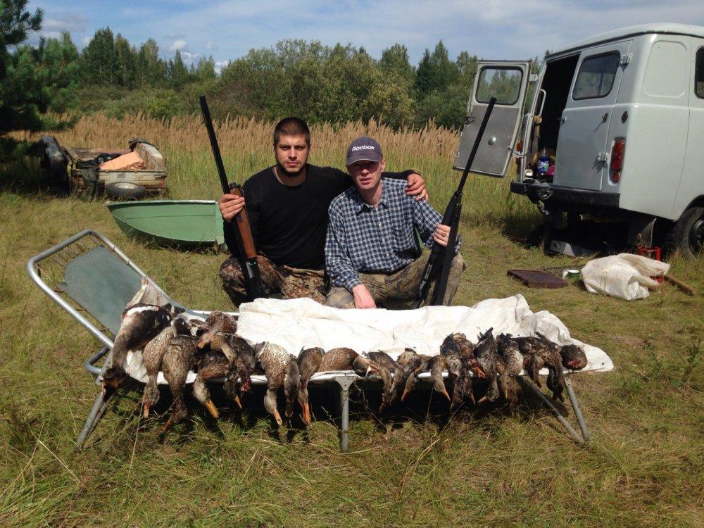 Открылись по утке в Смоленской области сбили 70 штук за весь день!!