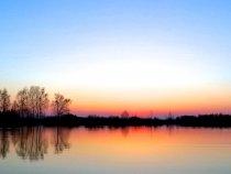 Закат в Радовицком