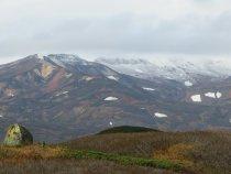 Снежок на вершинах.