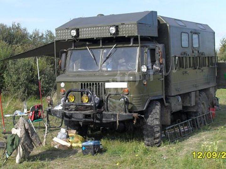 Хочу такой лагерь на колёсах
