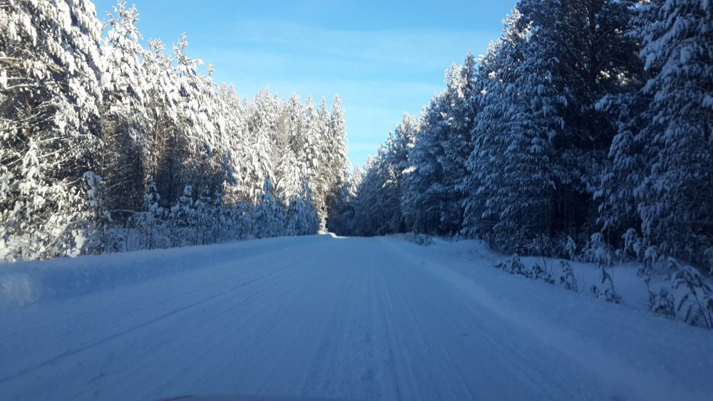 после снега все красивое